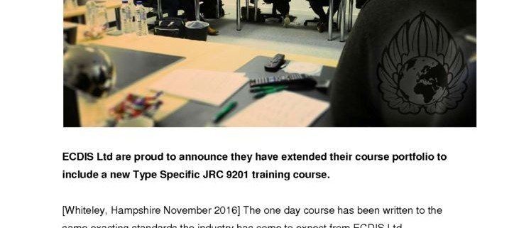 thumbnail of ecdis-ltd-delivers-their-first-jrc-training-on-the-new-9201