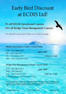 thumbnail of Early Bird Discount at ECDIS Ltd (2015)