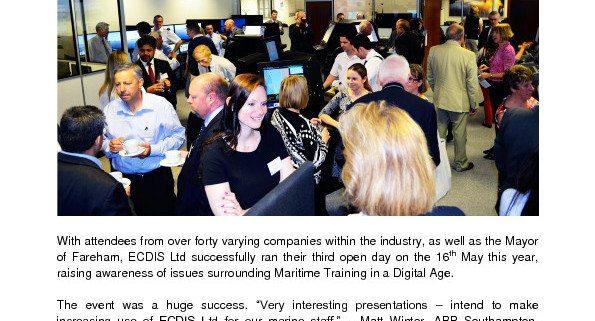 thumbnail of Industry professionals praise this year's inspiring and informative open day
