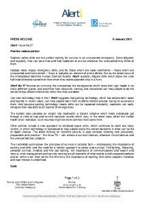 thumbnail of Nautical Institute Press Release – Alert! Issue No. 37