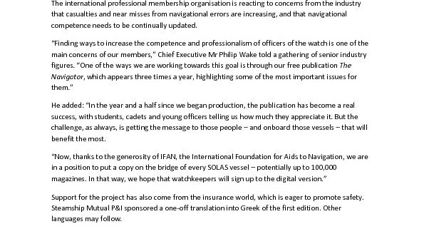 thumbnail of Press Release – Navigator DIstributor Launch final